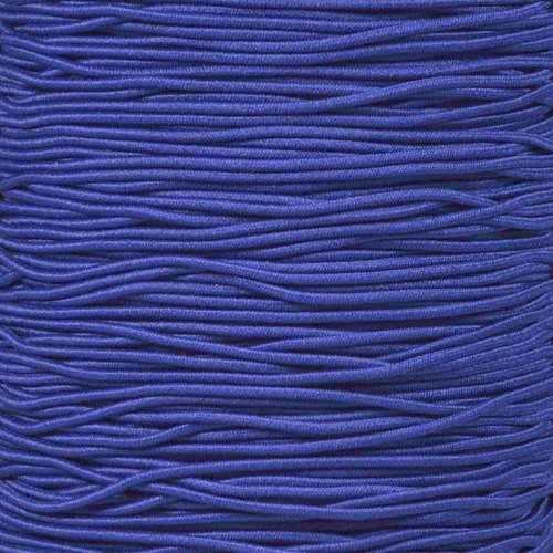 "Royal Blue 1/16"" Elastic Cord"