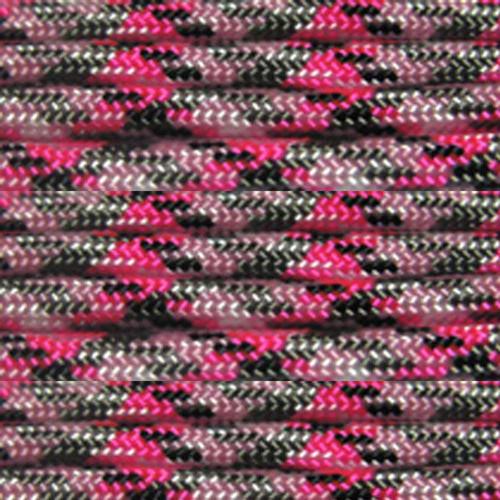 Pretty Pink Camo 550 7-Strand Paracord - Spools
