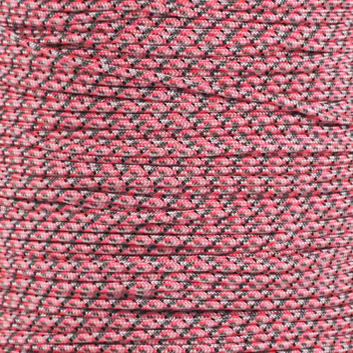 Pretty in Pink Camo 275 Paracord (5-Strand) - Spools