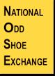 National Odd Shoe Exchange logo.
