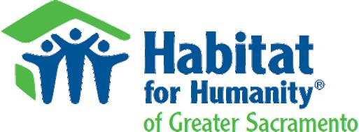 Habitat for Humanity Greater Sacramento Logo.