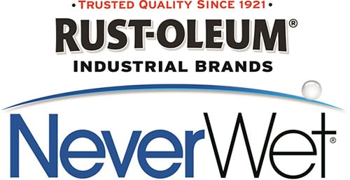 NeverWet by Rust-Oleum logo.