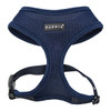 Puppia Soft Mesh Harness in Navy