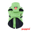 Puppia Mountaineer Coat in green back side