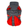 Puppia Mountaineer Coat in gray back side