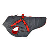 Puppia Mountaineer Coat in gray, side view