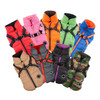 Puppia Mountaineer Coat all colors: red, pink, orange, green, blue, beige, gray, black, camo