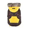 Puppia Orson Coat With Built In Harness
