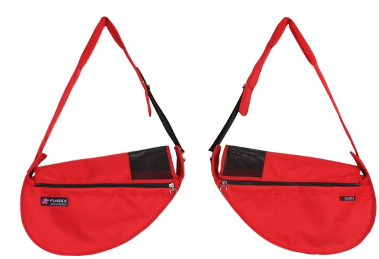 Fundle Pet Sling Red
