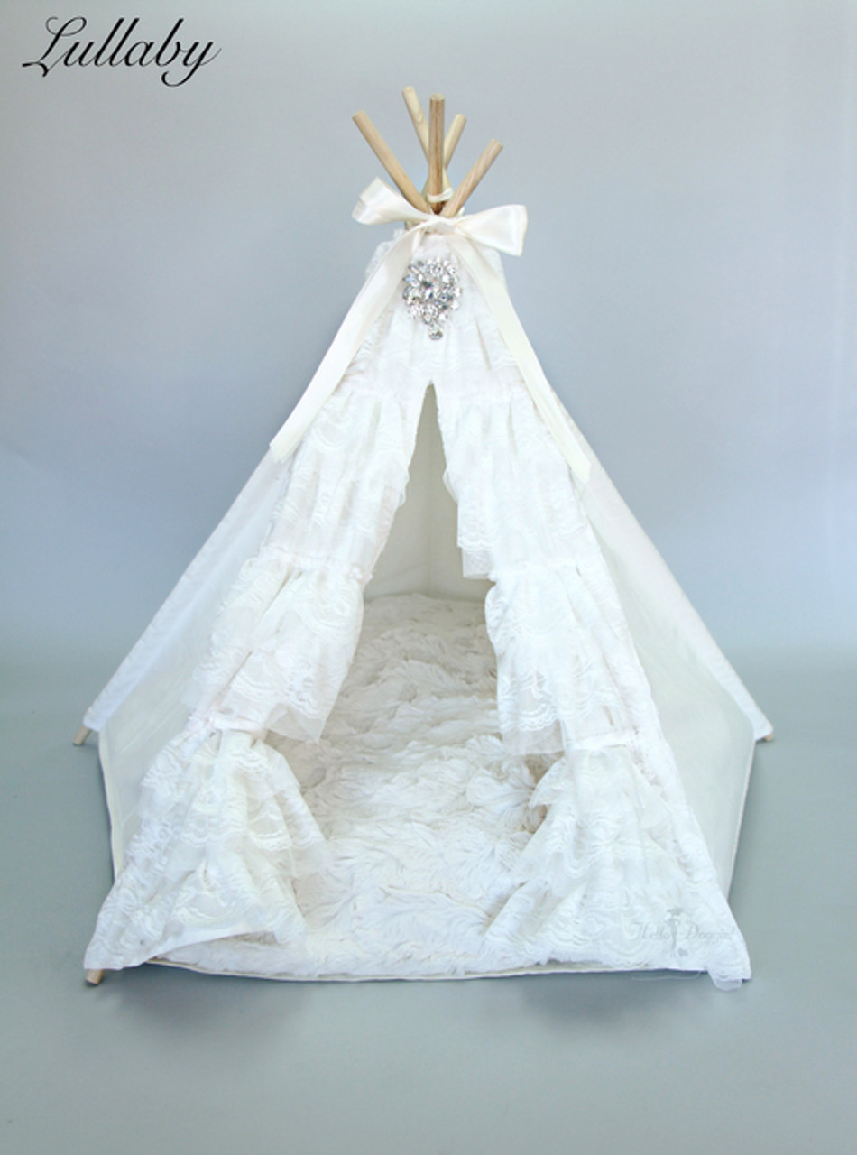 Hello Doggie Lulaby TeePee Bed