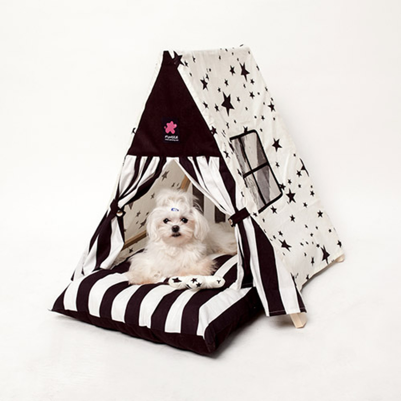 Fundle White Night Tent Bed