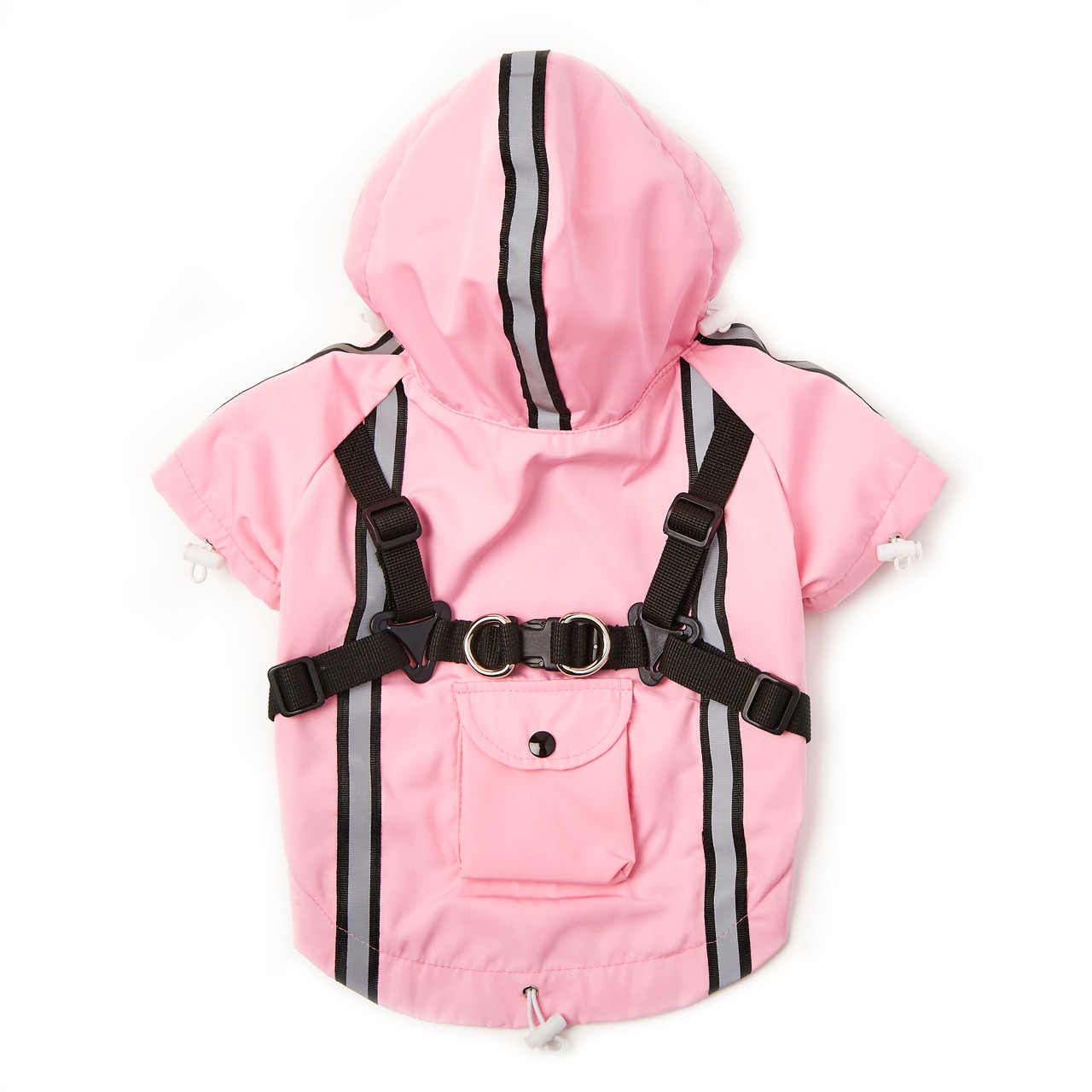 NYD Harness Raincoat with Reflective Trim