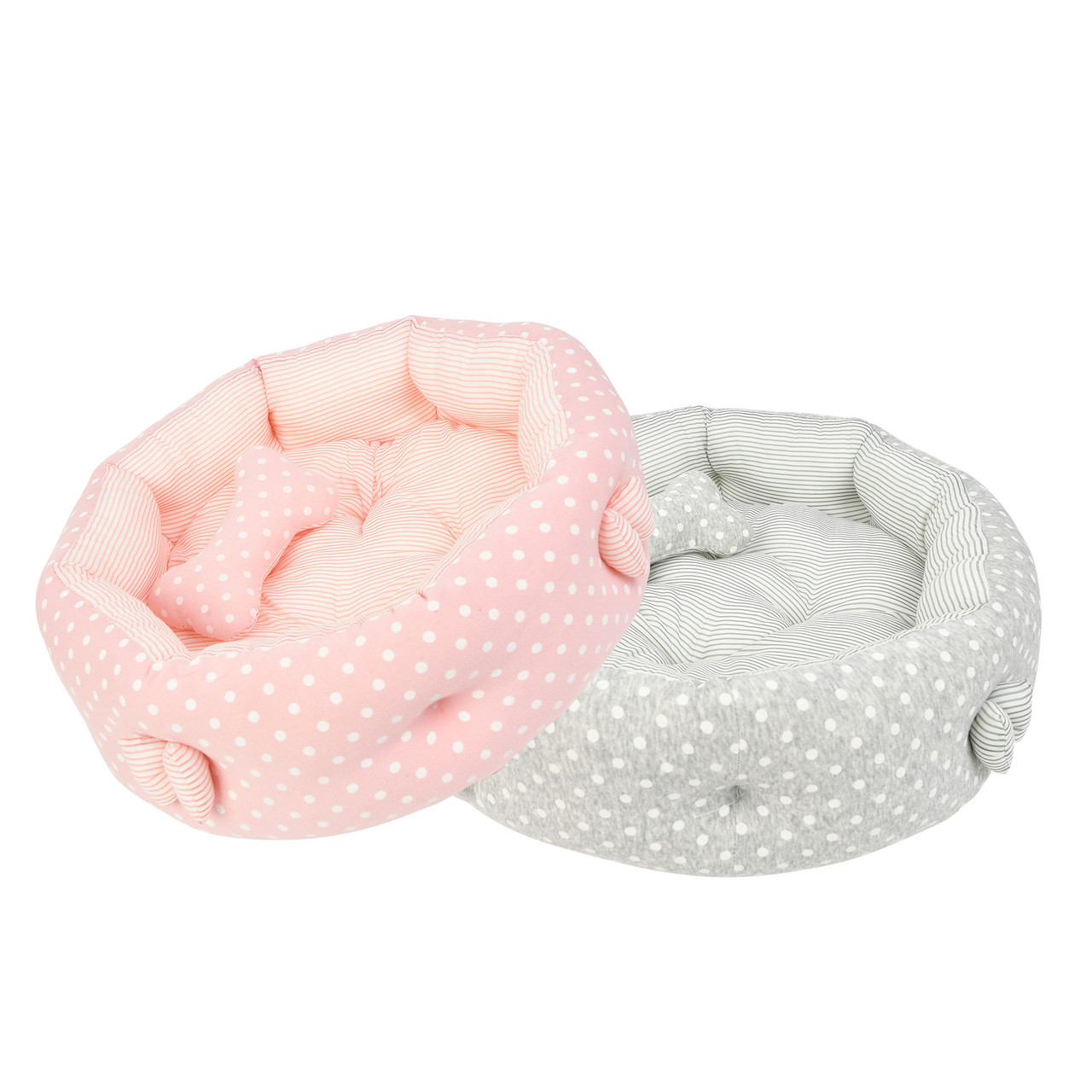 Pinkaholic Paloma Round Bed(by Puppia)
