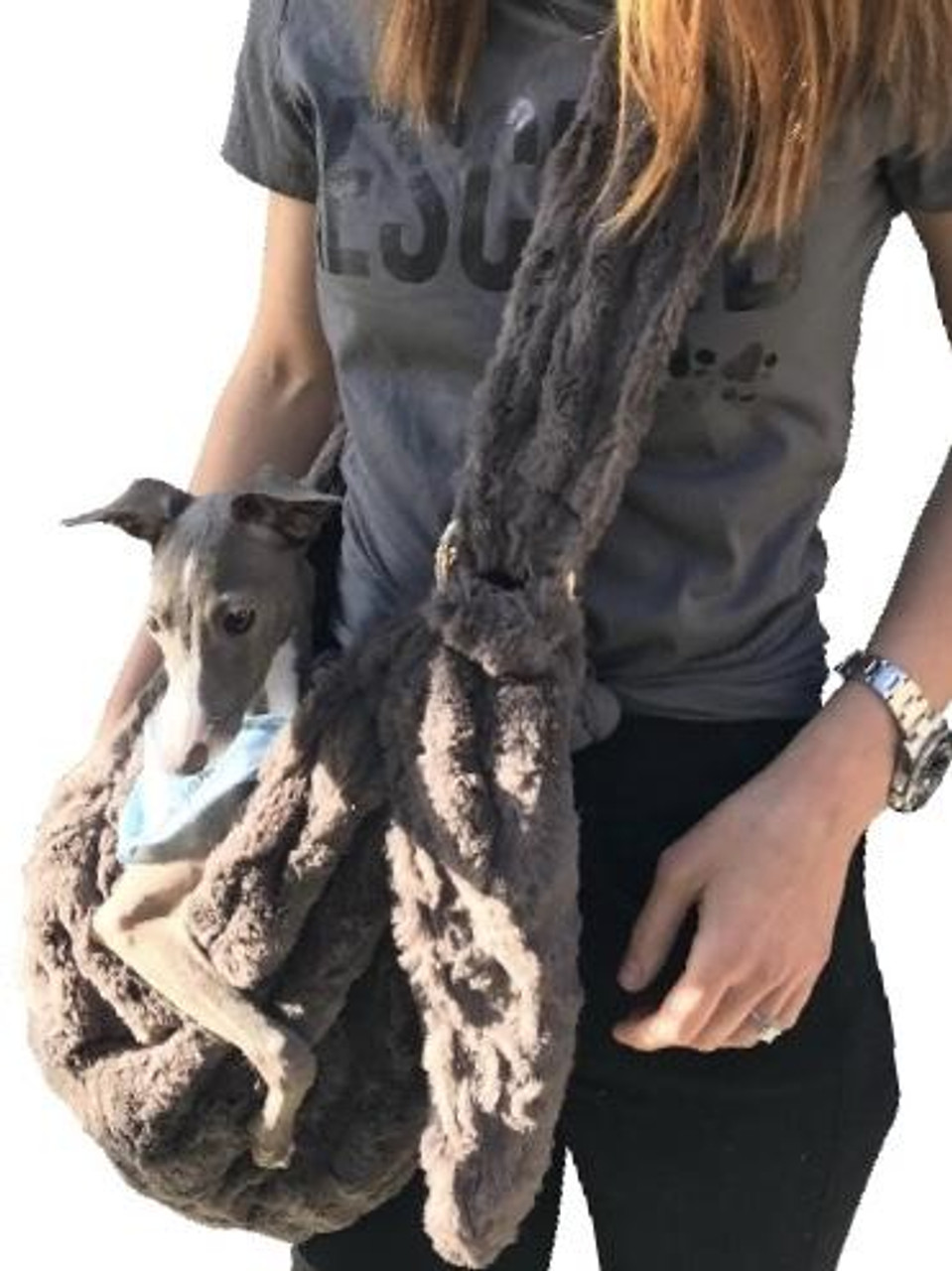 Furbaby Sling Charcoal