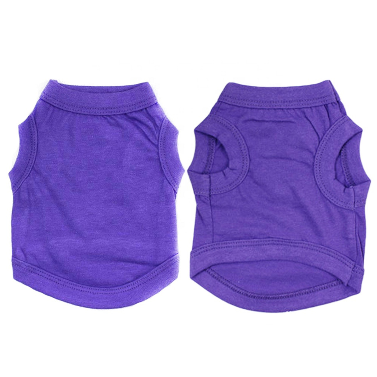 Cotton Sleeveless Tee-Buy 3 or More For $6.95 each
