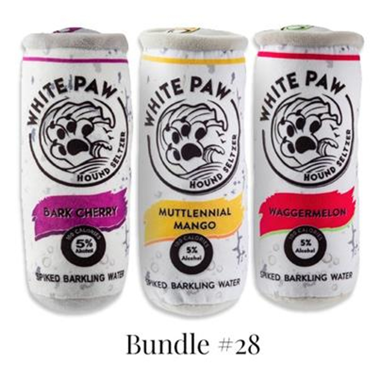 White Paw 3 Pack Gift Set