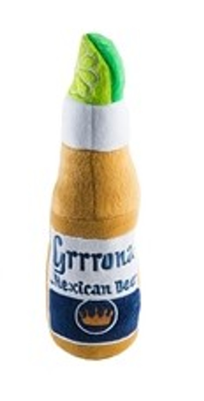 Grrrona Beer Dog Toy