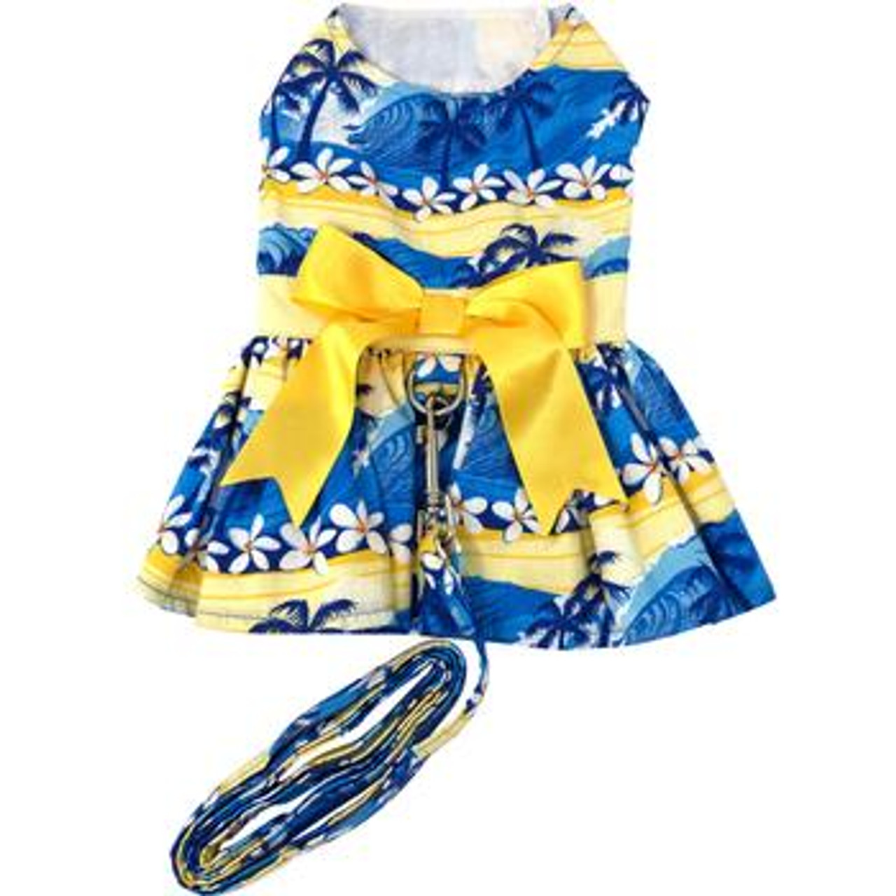 Catching Waves Harness Dress with Matching Leash