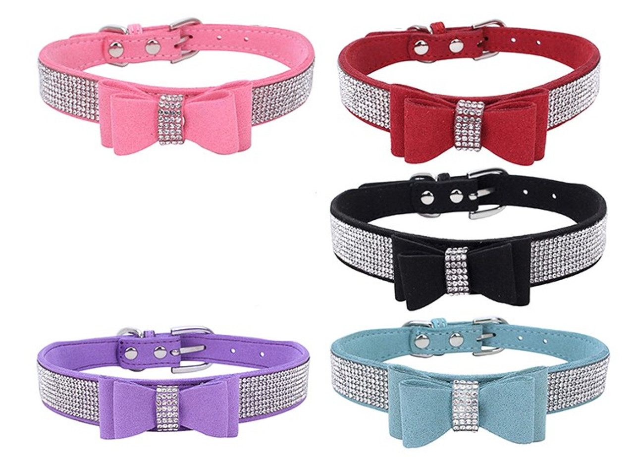 Bling Collar with Bow