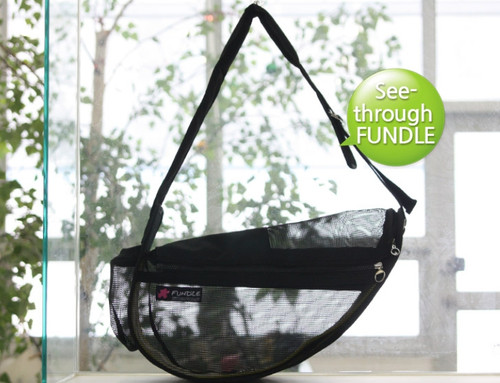 Fundle Pet Sling See-Through- Standard