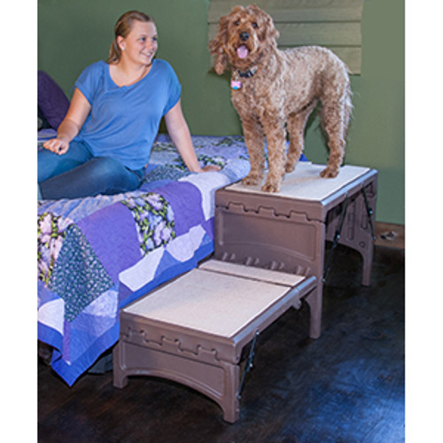 Pet Gear Free Standing Foldable Pet Stair