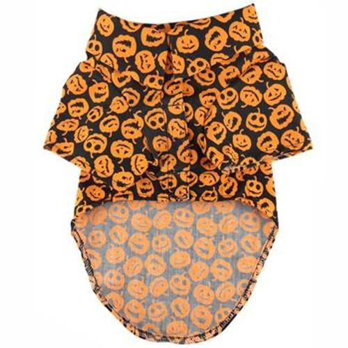Halloween Jack-O-Lanterns Camp Shirt
