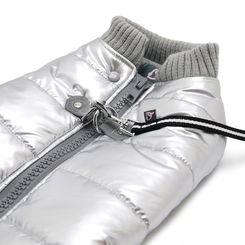 Dogo Silver Runner Coat with Built In Harness