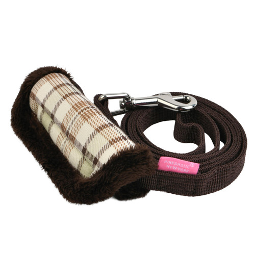 Pinkaholic Aline Leash(by Puppia)