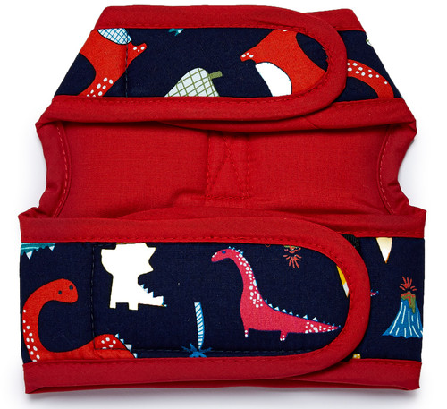 NYD Dinosaurs No Buckle Wrap Harness