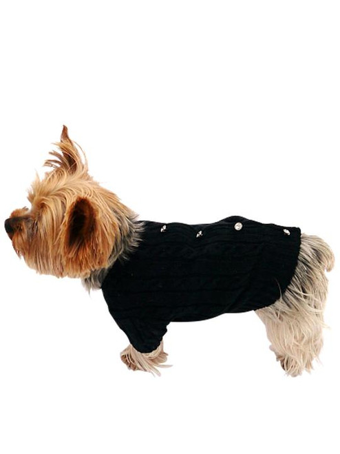 Dog Squad Cannes Button Back Cardigan
