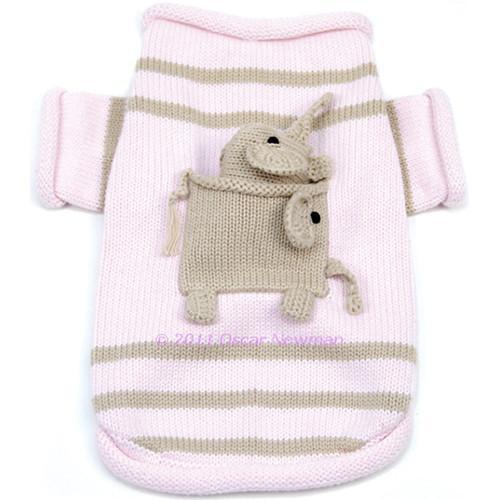 Oscar Newman Pocket Full of Elephant Sweater & Toy set -FINAL SALE