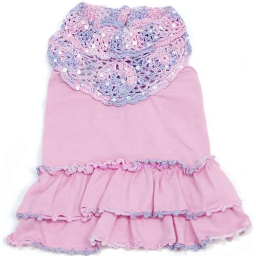 Oscar Newman Craving Cotton Candy Dress -FINAL SALE