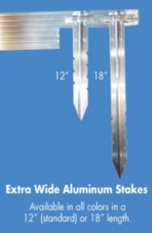 Aluminum Edging Stakes