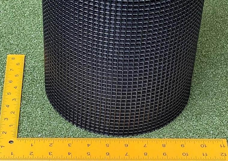 Black Steel 1/4 Inch Square Grid