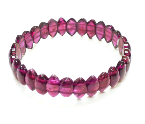 Garnet Stretch Bracelet