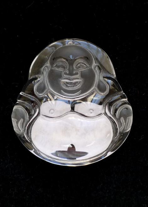 Rock Crystal Buddha Pendant