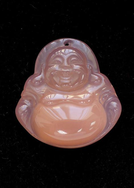 Rose Quartz Buddha Pendant