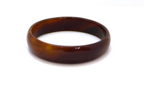 Brown Agate Bangle