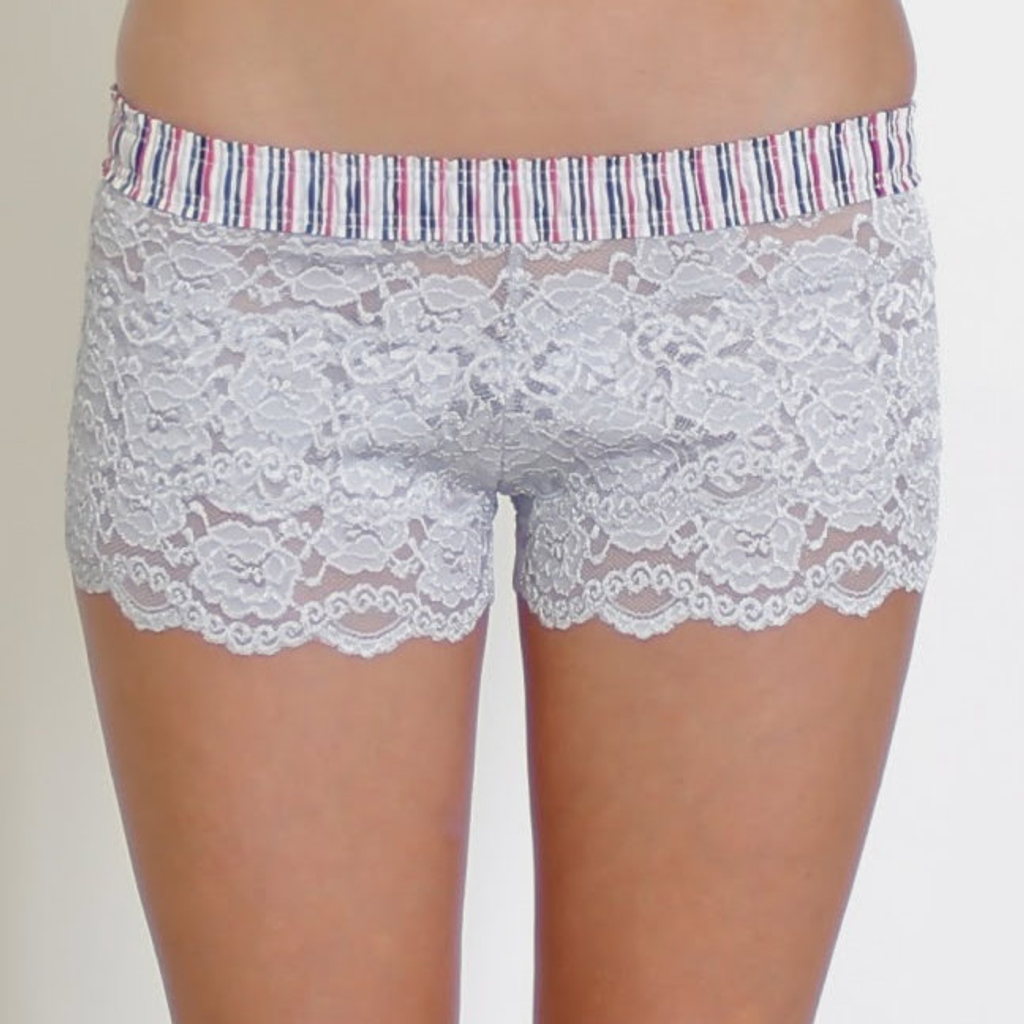 Women's Lace Boxer Underwear