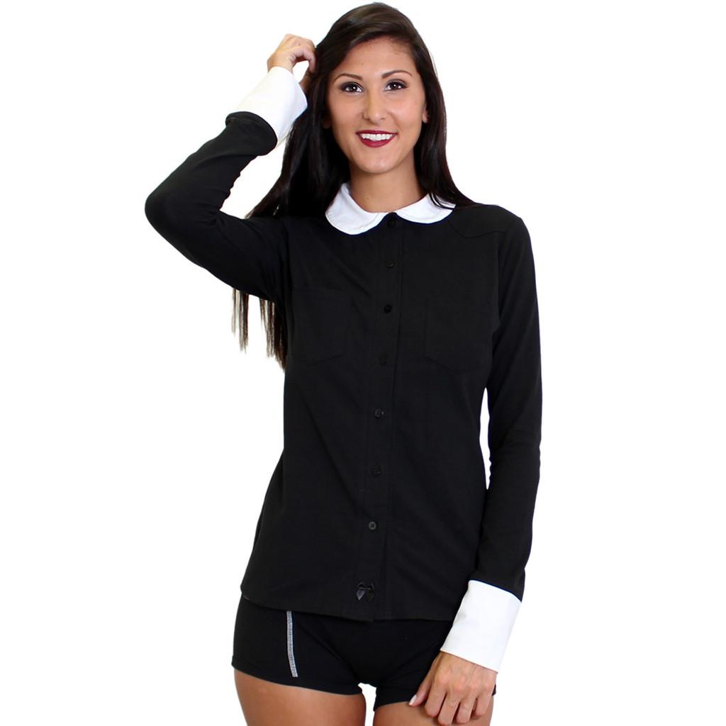 Stylish Women's Button Down Shirt
