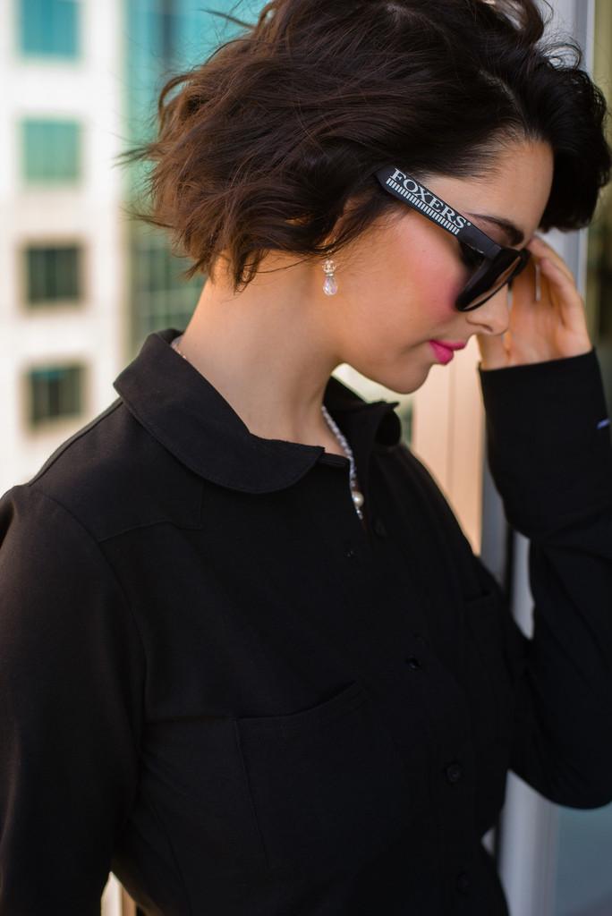 Dressy Black Top