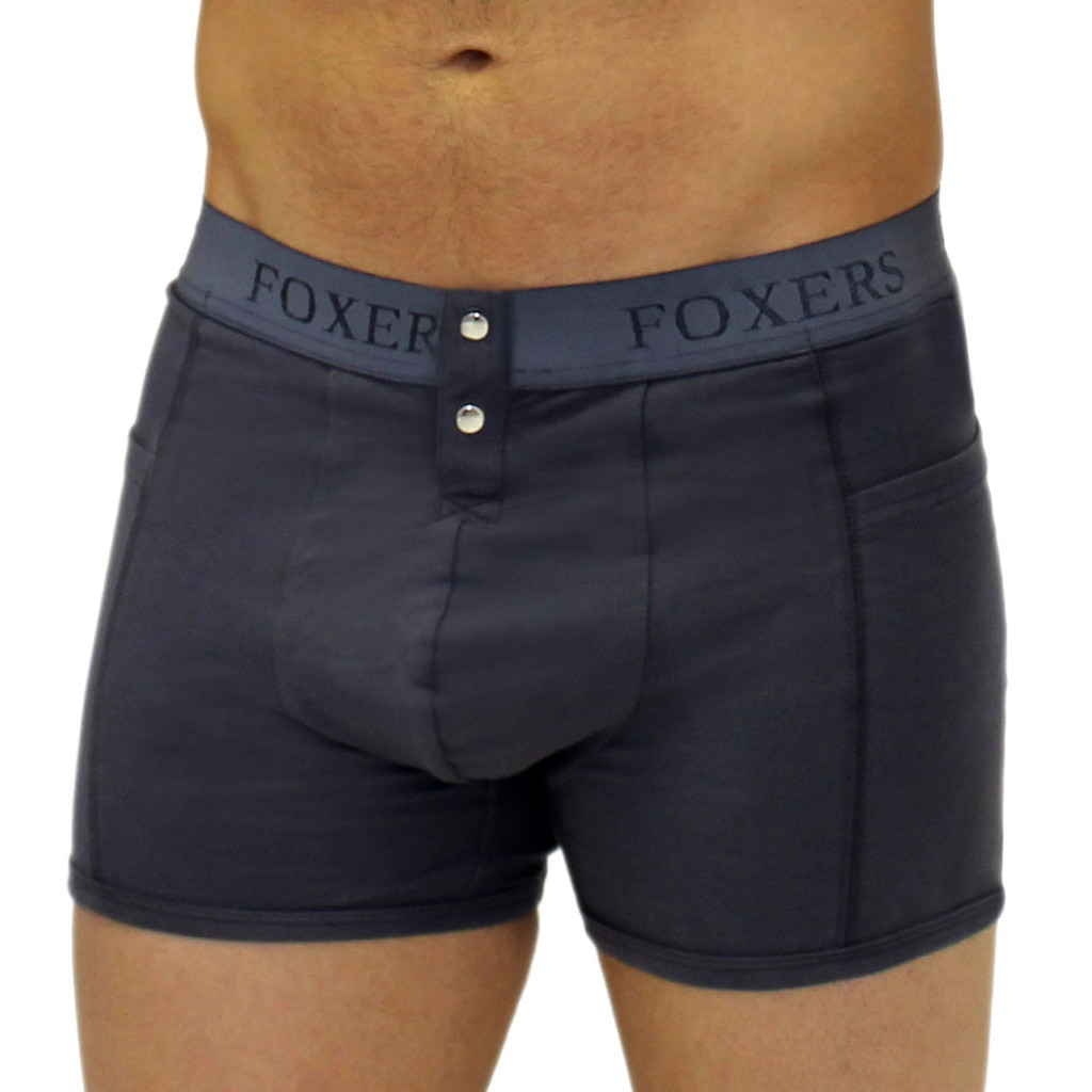 Sporty Men's Grey Boxer Brief