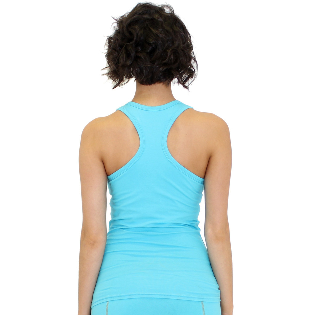 Turquoise Racer Back Tank