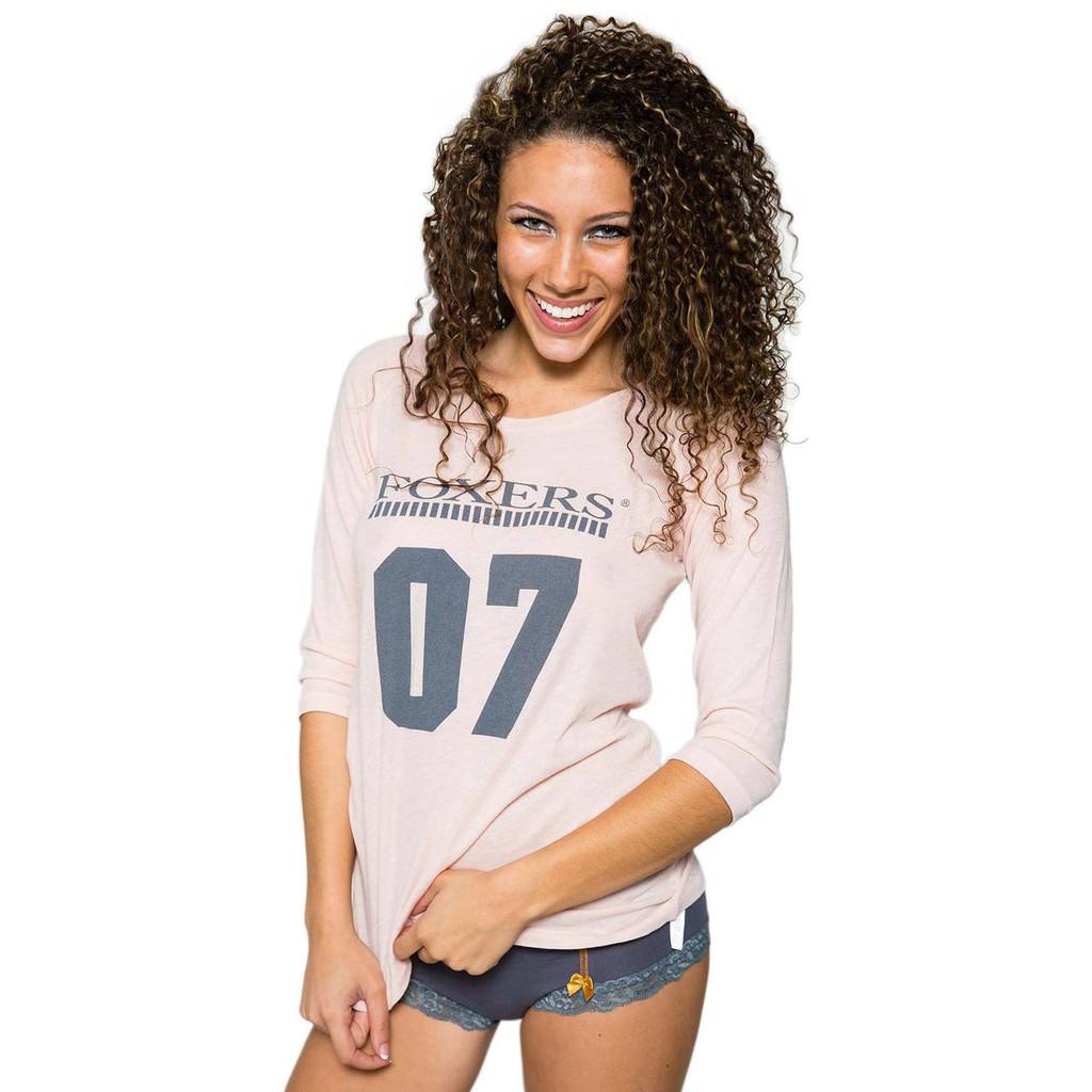 Girl three quarter length sleeve t-shirt
