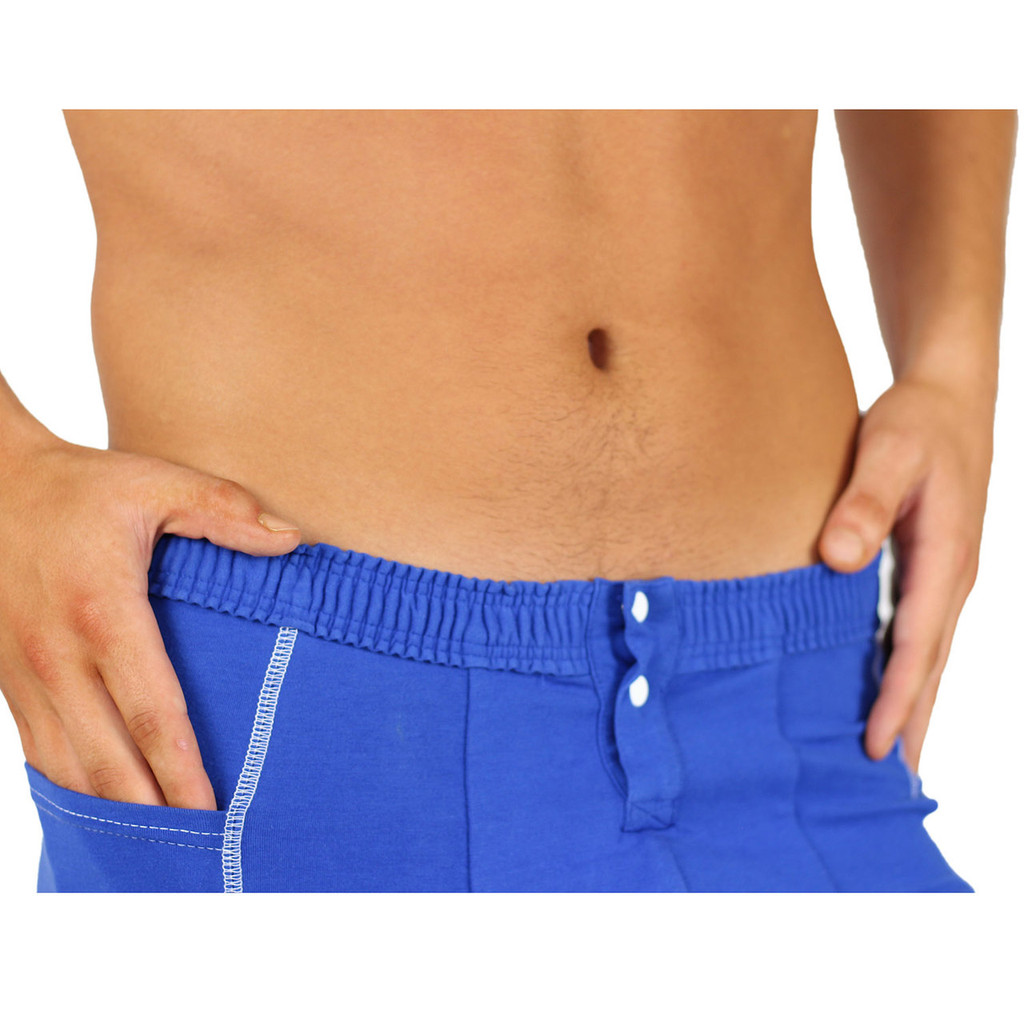 Men's Boxer Brief with Side Pockets