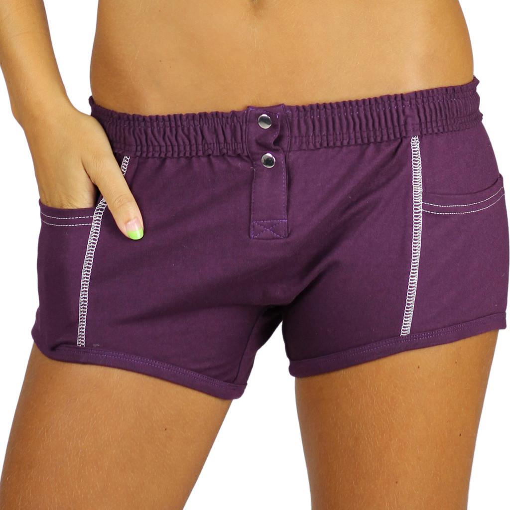 Plum Purple Tomboy Boxer Brief