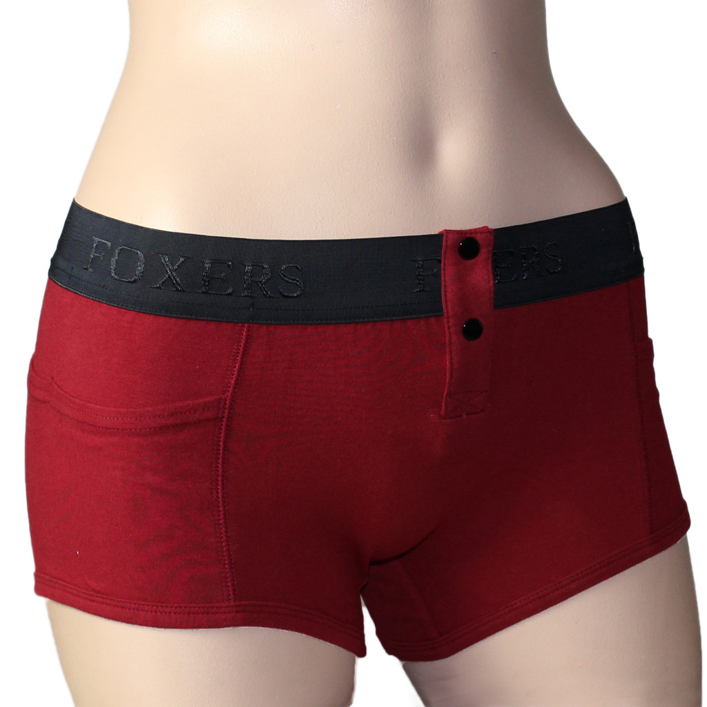 Tomboy Boxer Brief with Pockets