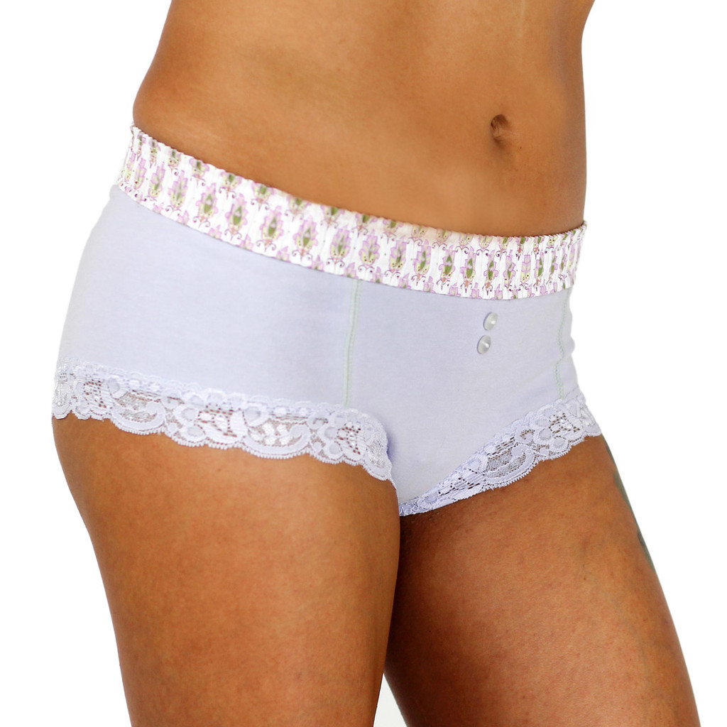 Pale Purple Knickers with Comfortable Waistband