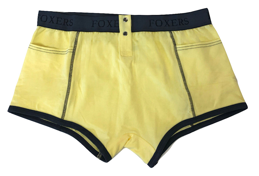 Light Yellow Tomboy Boxer Brief | Foxers