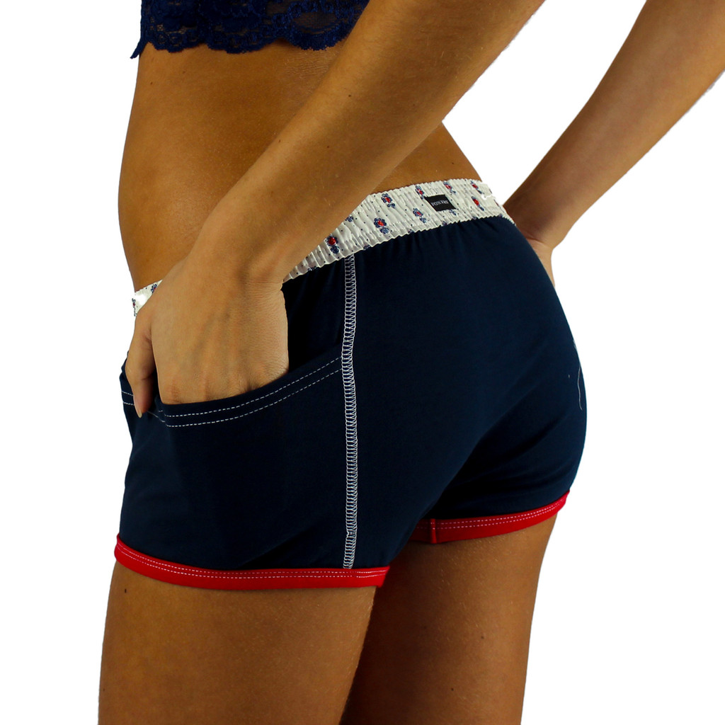 Navy Blue Tomboy Boxer Brief | Munroe Heritage